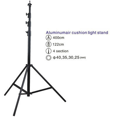 S4A  Air Cushioned 4M 13 feet Heavy Duty Light Stand Master Stacking top quality
