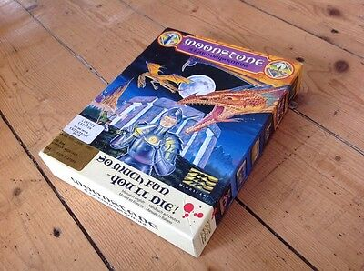 Limited Edition MOONSTONE A Hard Days Knight Commodore Amiga Complete Mindscape