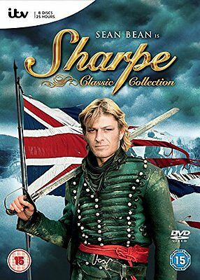 Sharpe: The Complete Classic Adventures Collection Box Set | New | Sealed | DVD