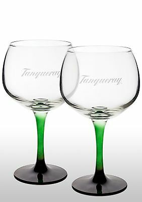 Tanqueray Gin Copa Glass X 2  New