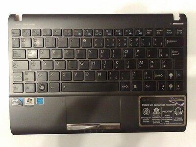 asus Eee pc 1025c plasturgie clavier touchpad nappes