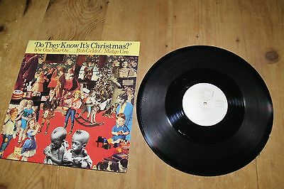 """Band Aid, Do They Know It's Christmas? One Year on,12"""" single on vinyl"""