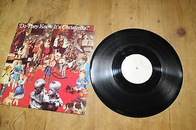 """Band Aid, Do They Know It's Christmas 12"""" vinyl"""