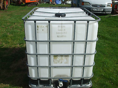 1000ltr IBC Water/ Storage Container