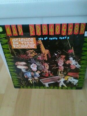 """mad professor """" science and the witch doctor"""" 1989 vinyl"""