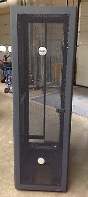 Dell 42U 4210 19'' Server Rack Enclosure Cabinet With All Sides, Doors And Key.