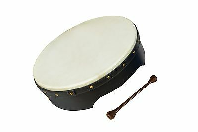 12 X 3.5 Heartland negro bodhran fijar cabeza T bar, Fix Head Irish Bodhran