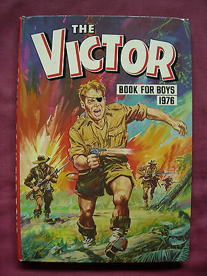 The Victor Book for Boys 1976 Annual Unclipped D.C. Thomson VFN+