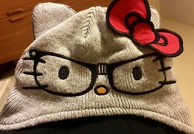 Hello Kitty Girls Hat. Size 1 - 3 years. Excellent condition