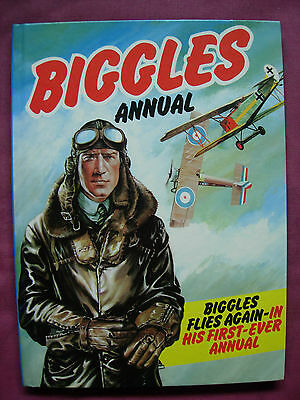 Biggles Annual 1980 W.E.Johns Unclipped World International VFN+
