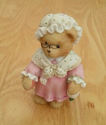Cherished teddies. Grandma is God's special gift