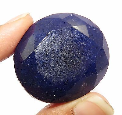 174.20 Ct Natural Oval Shape GGL Certified Royal Blue Sapphire Faceted Gemstone