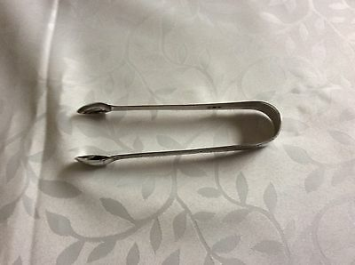 Antique Sterling Silver Tongs