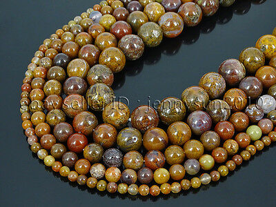 Natural Aqua Nueva Jasper Gemstone Round Spacer Beads 15'' 4mm 6mm 8mm 10mm 12mm