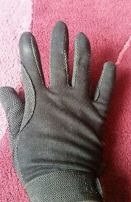 horse riding gloves size m