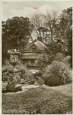 1937 Postcard The Gardens and Dairy Blaise Castle BRISTOL