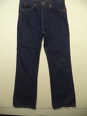 vtg 80s LEVIS MENS 517 BOOT CUT BLUE JEANS 33X30 NEW NWOT made in USA