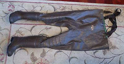 RedHead Bone-Dry Rubber cleated Boot-Foot Chest Wader steel shank youth 3 lady 5