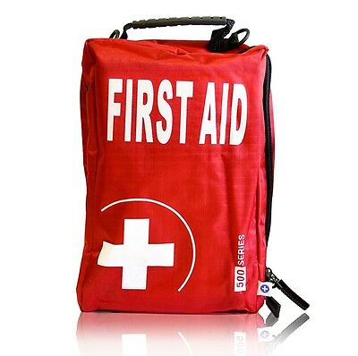 Compact Vehicle First Aid Kit - Red, Motorist, Car, Minibus, Coach, Motoring HSE