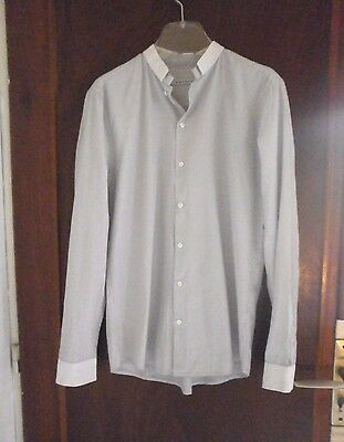Chemise homme SANDRO taille M mini rayures