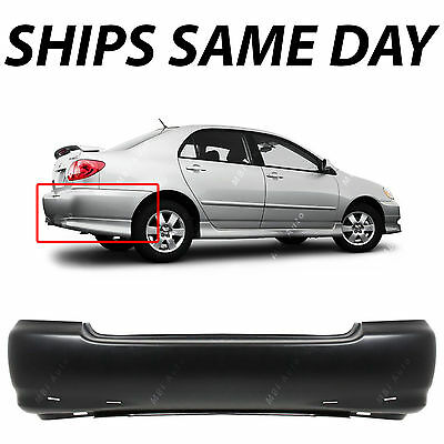 Steel COROLLA 03-08 REAR BUMPER FILLER RH