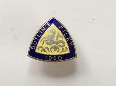 Butlins Badge. Filey 1960.  In very good condition