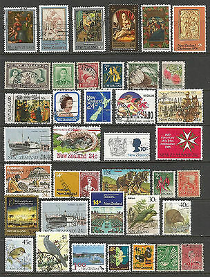 New Zealand stamps.