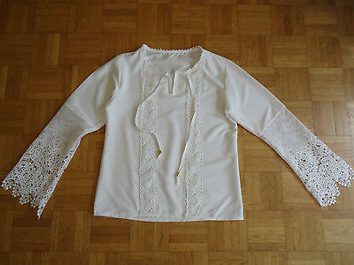 Blouse blanche femme - Taille S