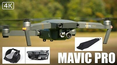 Helices & protection pare soleil camera  DRONE dji mavic pro  8330F propeller