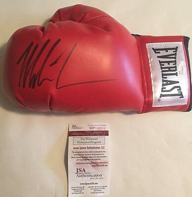 Mike Tyson Autographed Left Handed Everlast Glove JSA Witnessed COA