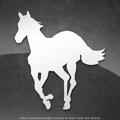 "Deftones White Pony Vinyl Decal Sticker - 4"" and Larger - 30+ Color Options!"