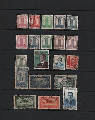 Morocco stamp selection