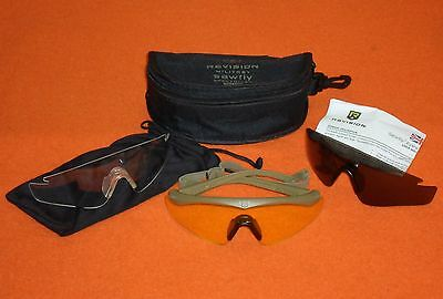 Genuine British Army Issue Revision Sawfly Ballistic Safety Spectacles - Regular