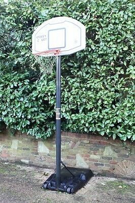 Sure Shot Basketball Net Stand, large, robust, portable