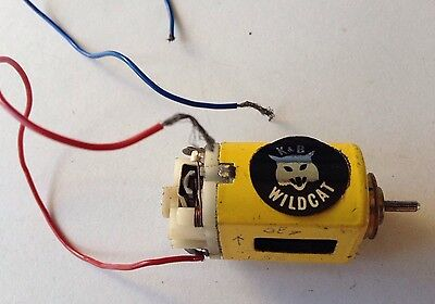 Rare Vintage 1960s Slot Car tested working MABUCI motor 1/24th 1/32nd? LISTING +