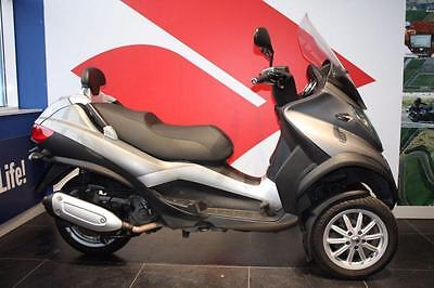 2012 62 Piaggio Mp3 Mp3 300 Ie Lt, Grey, 3 Wheeler