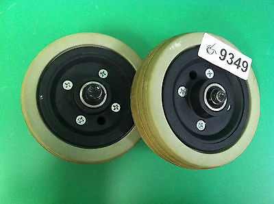 Caster Wheels & Tires for Pride Jazzy Select 6 Power Wheelchair ~set of 2~ #9349