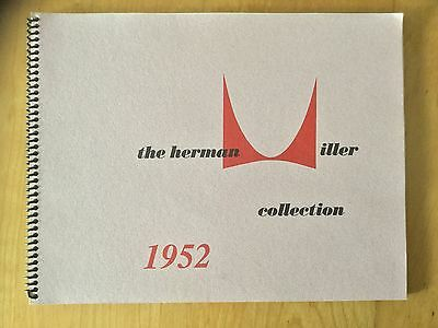 Herman Miller 1952 Catalog with Gilbert Rohde Pamphlet