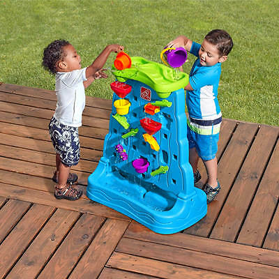 outdoor toys for 2 year old cool Waterfall Discovery Wall Playset toddlers