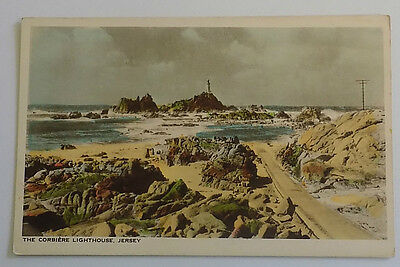 The Corbiere Lighthouse - Jersey Channel Island - Postcard.