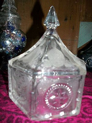 Vintage American Eagle And Sealcovered Candy Dish