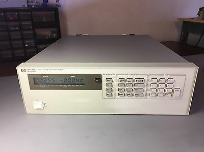 HP (AGILENT)  6626A PRECISION QUAD OUTPUT DC POWER SUPPLY Tested 30 Day Warranty