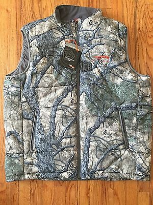 Sitka Ardica Dutch Oven Heated Insulated Vest Jacket Hunting Duck Deer Mothwing