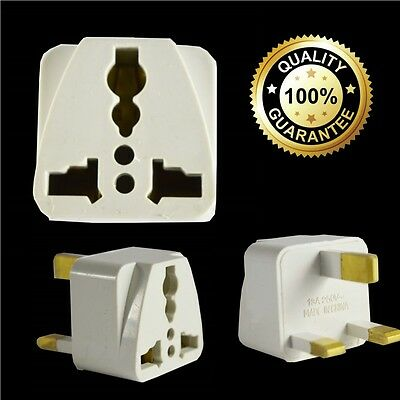 Universal 3 Pin Travel Adapter EU ASIA INDIA CHINA US to UK Plug Main Converter