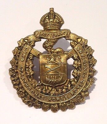 Canadian Army - Lord Strathcona's Horse (Cap Badge) Lugs
