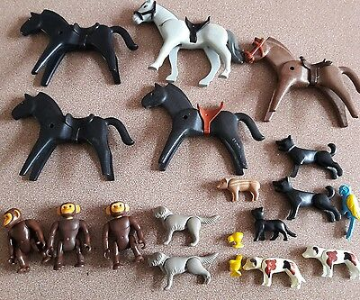 Lot  playmobil animaux