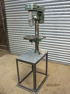 NU TOOL  2MT, 16 SPEED DRILL Press on TABLE. SINGLE PHASE.