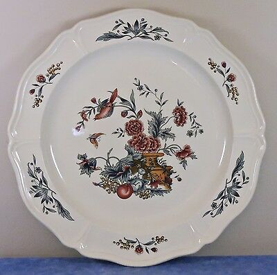 """Vtg. Wedgwood Williamsburg POTPOURRI 12"""" Round Chop Plate / Charger- 1965-MInty!"""