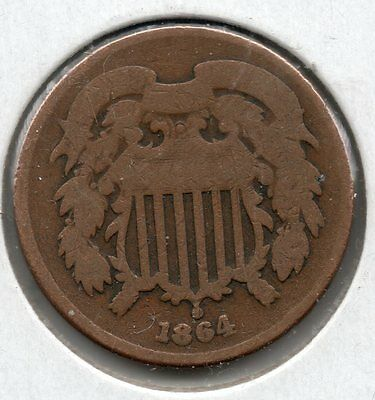 Nice 1864 Two Cent Piece Buy it Now