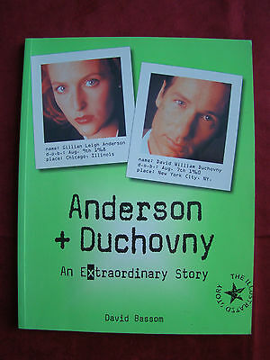 Anderson & Duchovny - An eXtraordinary story by David Bassom
